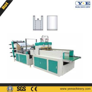 Double Layer 4 Lines T-Shirt Shopping Bag Making Machine (LQ) pictures & photos