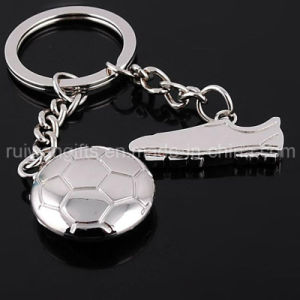 Wholesale Football Metal Keyring (MKC119) pictures & photos