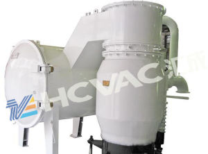 Rainbow Plastic Beads Vacuum Metallizing Machine, PVD Vacuum Coating Plant pictures & photos
