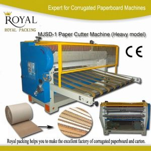 Paperboard Cutter Machine (Heavy Model), Single Face Paperboard Sheeter pictures & photos