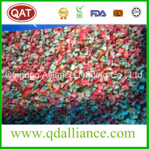 IQF Frozen Diced Green Red Yellow Pepper pictures & photos