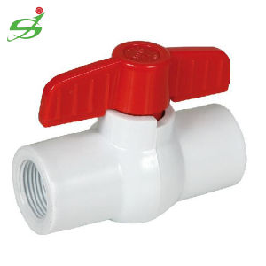 New Material UPVC Ball Valve with Thread pictures & photos
