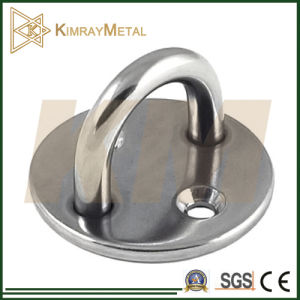 Stainless Steel Round Eye Plate/ Pad Eye pictures & photos
