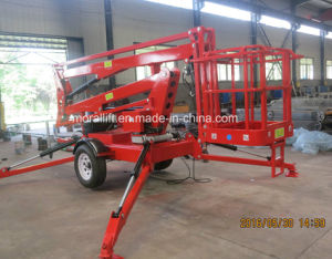 CE Certification Boom Lift with Working Basket (TBL-8) pictures & photos