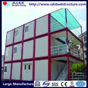 40FT Container House for Labor Camp with Kitchen and Toilet pictures & photos