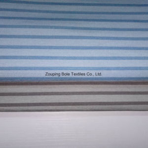 Knitting Fabric/Stripe /Spandex/Knitting Fabric pictures & photos