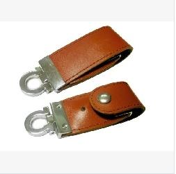 Leather USB Flash, 1GB to 64GB Storage Capacity Range, USB 2.0 Interface pictures & photos