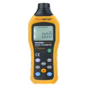 Peakmeter Ms6208b Digital Tachometer with Max/Min/Avg