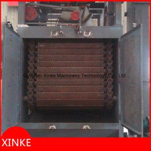 Automatic Feed Tumble Belt Type Sandblasting Machine pictures & photos