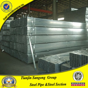Pre Galvanized Square Steel Pipe Hollow Section 40*40*1.8mm pictures & photos