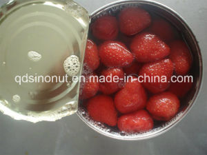 2015 New Crop Canned Strawberry in L/S (HACCP, ISO, HALAL, KOSHER, BRC, FDA) pictures & photos