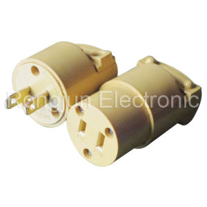 connector Male Femal America Plug Socket Rj-0011 pictures & photos