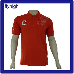 USA Fashion Pique Cotton Polo T-Shirt pictures & photos