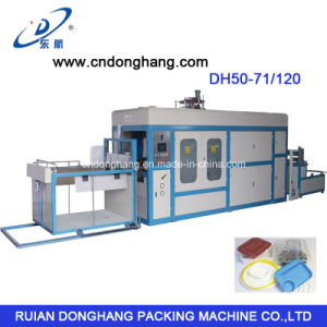 Vacuum Packing Machine for Plastic Lunch Box Thermoforming pictures & photos