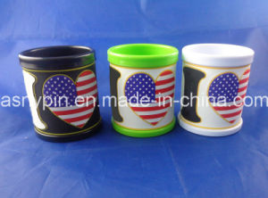 Custom PVC Rubber Mug Plastic Mugs Promotion Gifts pictures & photos