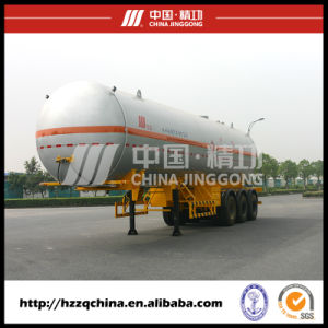 39500L Single Row Tire Liquified Gas Po Transportation (HZZ9403GYQ) pictures & photos
