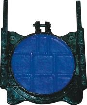 Round Cast Iron Gate Sluice Valve Penstock pictures & photos