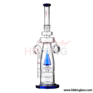 Hbking Female Joint Colorful Functionsilika Glass Smoking Pipe pictures & photos