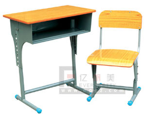 High Quality Classroom Furniture Adjustable Desk & Chair pictures & photos