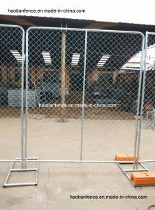 American Temporary Chain Link Mesh Fence Panel, Temp Chain Link Fening Panel pictures & photos