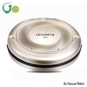 Golen Color Mini Floor Vacuum Cleaner Robot Portable Cleaning Devices Quiet Mop Robot Vacuum Cleaner One Start Button Clean Hoover pictures & photos
