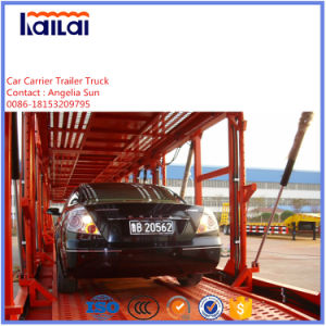 3 Axles Car/SUV Carrier Semi Trailer for Vietnam Asia Market pictures & photos