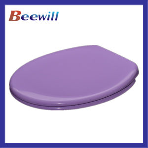 European Standard Purple Soft Close Urea Toilet Seat Lid pictures & photos