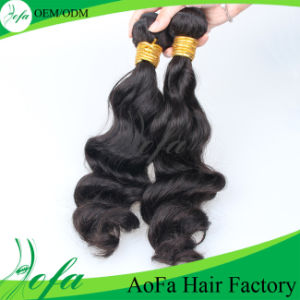 Unprocessed Remy Indian Hair Extension Human Virgin Hair pictures & photos