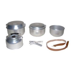 Aluminium Camping Cookware Set (CL2C-DT2116-6) pictures & photos