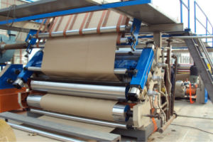 Doule Group Rollers Corrugated Paperboard Single Facer Machine pictures & photos