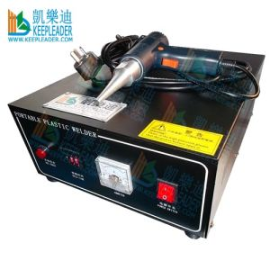 Handheld Ultrasonic Spot Welding Machine of 300W, 28kHz Plastic Spot Welder