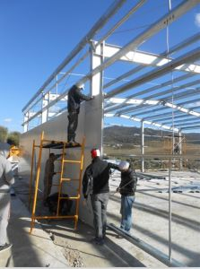 Supermarket Project Steel Structure Prefabricated Buildings pictures & photos