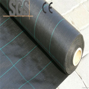 PP Woven Fabric Black Color for Bag Making pictures & photos