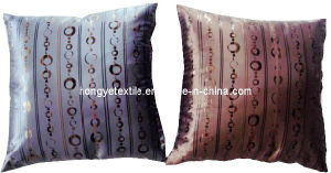 100% Polyester Jacquard Decorative Satin Cushion