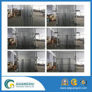 Heavy Duty Steel Portable Expandable Gates with Casters pictures & photos