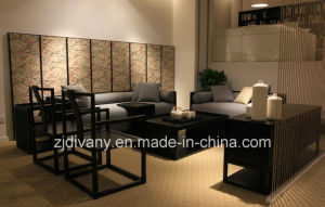 Chinese Style Wood Sofa Living Room Furniture pictures & photos