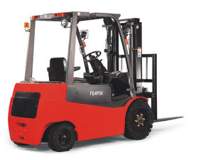 2-3.5t 4-Wheel Electric Forklift pictures & photos