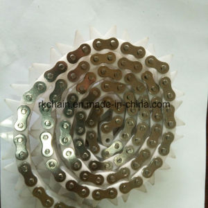 Engineering Plastic Roller Chain with V Type Plate pictures & photos