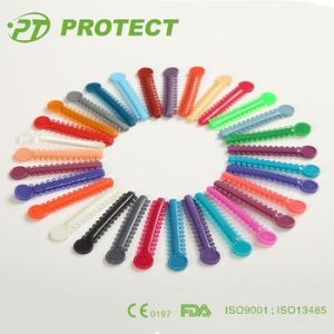 Dental Products 31 Colorful Ligaties O-Ring Ties Orthodontic Ligature Tie