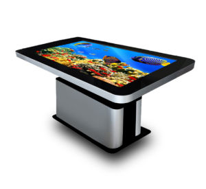 """New! ! 55""""Touchscreen/IR Infrared Touch Screen/LCD Panel Android Interactive Touch Kiosk pictures & photos"""