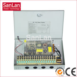 12V 25A CCTV Power Supply Box (SL-300-12)