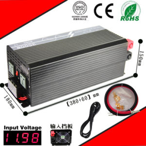 3000W DC-AC Inverter 12VDC or 24VDC 48VDC to 110VAC or 220VAC Pure Sine Wave Inverter with AC Charge pictures & photos