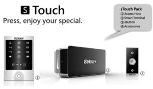 125kHz & 13.56MHz Touch Access Control (STOUCH)