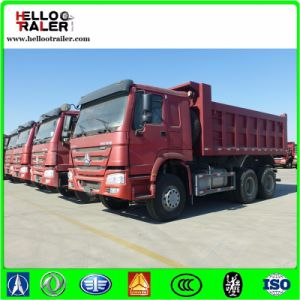 Green 8X4 30tons Loading Weight Mining Dump Truck pictures & photos