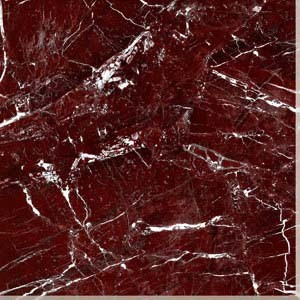 Deep Red Marbling 6b028 Polished Porcelain Tile pictures & photos