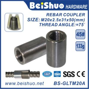 Building Material Carbon Steel Rebar Splicing Coupler Sleeve pictures & photos