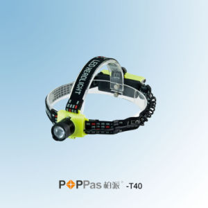 150lumens CREE Xr-E Q5 Zoomable LED Headlamp (POPPAS- T40) pictures & photos