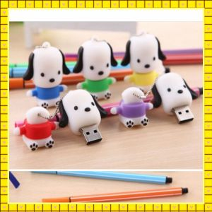 Lovely Dog Shaped USB Flash Drives (GC-H007) pictures & photos