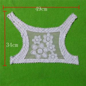 V Neck Cotton Lace Collar (cn143) pictures & photos
