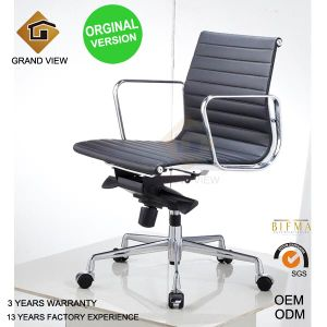 Orginal Version Eames Leather Chair (GV-EA117) pictures & photos